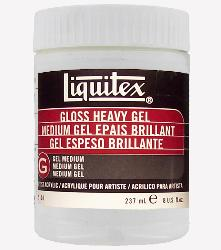 Liquitex Gloss Heavy Gel - 8 oz